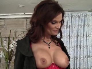 Business woman blows Rick