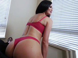 Milf mom fucks step son for buying her sexy lingerie