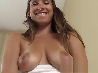 MILF seduces baseball coach with POV sucking fucking for more playtime