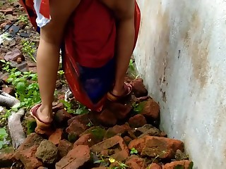 Devar Outdoor Fucking Indian Bhabhi In Abandoned House Ricky Public Sex