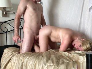 Stepmom helps horny stepson