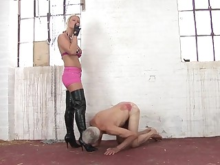 Torturing the old slave