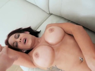 Amateur mom facial and friend's brother ' associate's