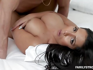 Rose Monroe is a smashing, big ass brunette who likes a good fuck from the back