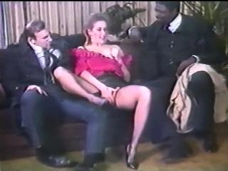 Vintage retro hardcore sex time between a couple