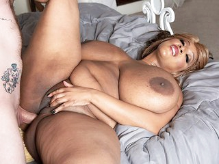 Africa Sexxx: Huge Tits & Anal - Africa Sexxx and Johnny Goodluck - XLGirls
