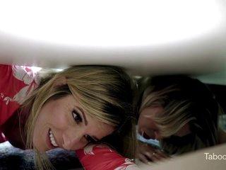 Cory Chase & Nikki Brooks - Busty Stepmom Stuck Again