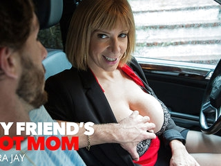 Sara's Big Tits Attract Her Son's Best Friend - MyFriend'sHotMom