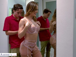 Cherie Deville - schoolboy came to fix mom's Wi-Fi