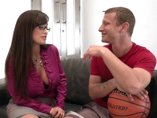 You Wish You Had A Teacher Like Lisa! This Time She Shows Mr. Pete A Special Way Of Education