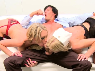 4k Cock Sucking With Cindy Behr And Nurse Paige Ashley