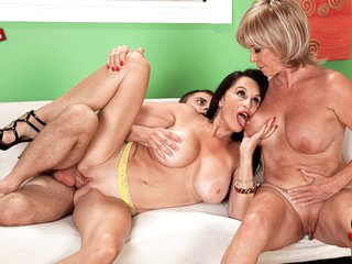 Dream Three-Way: Rita Daniels And Lexi Mccain - Lexi Mccain, Rita Daniels, And Ivan Nukes - 60PlusMilfs