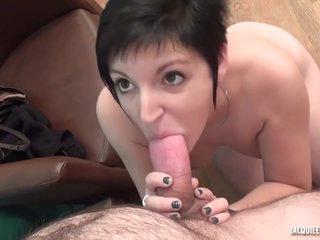 Nasty Curvy Milf Sabrina First Porn Video