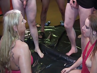Extreme Piss Orgy, With Swallowing Liters Of Piss, For A Teen Girl And A Milf! Part 1 Uncut, Camera 1