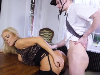 Teen thong Having Her Way With A Rookie
