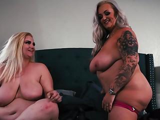 Bbw Strapon Lesbians