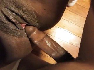 Smashin' Wet Black Pussy