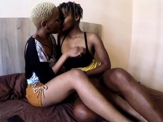 Black Lesbian Real Girl On Girl Orgasms