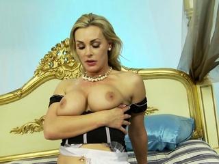 3 Way Fuck - Cougar Maid Tanya Tate