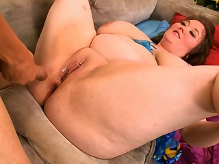 Chubby Big Tits Birthday Anal