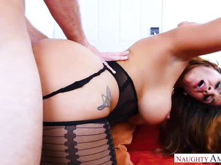 Busty Latina Get Ass Fucked By Bwc