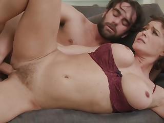 Slutty Squirting Big Tit Milf Mom Fucks Son With Krissy Lynn And Logan Pierce