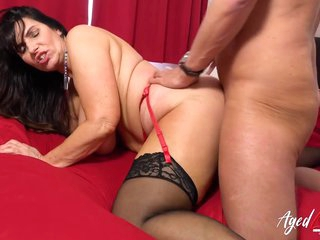 Marc Kaye And Josephine James - Hot Busty Mature Takes Her Work Seriously