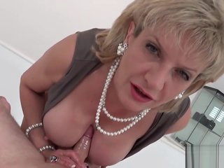 Adulterous british milf lady sonia presents her massive jugs